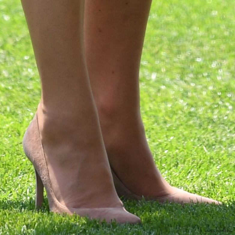 Kate Middleton's shoes at Royal Ascot 2017