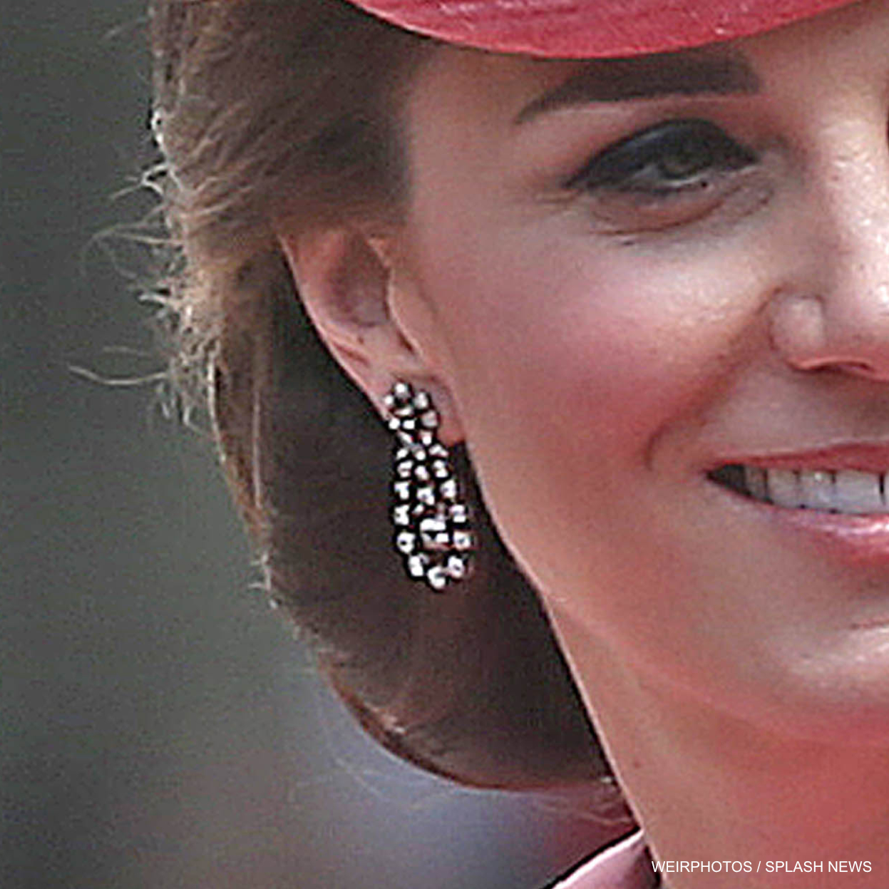 Kate Middleton's Trooping the Colour earrings