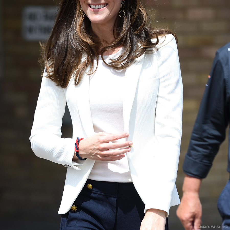 Kate Middleton's white blazer from Zara