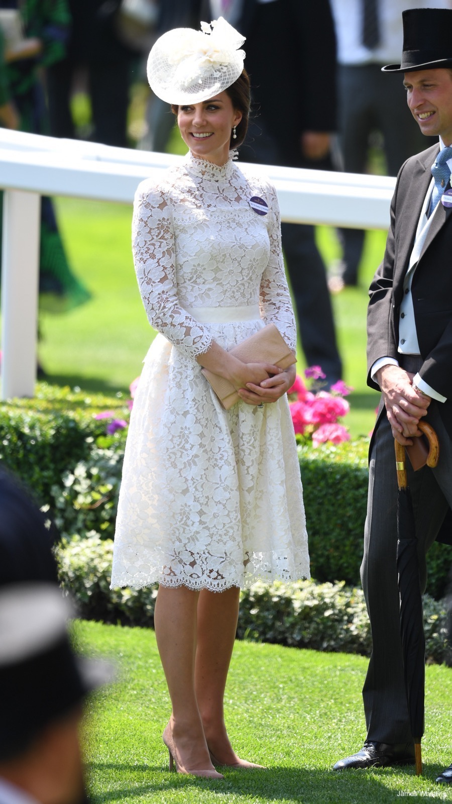 Alexander Mcqueen Lace Dress In White Kate Middleton Style Blog