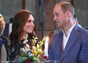 William and Kate visit the Clärchens Ballhaus ballroom in Berlin, Germany during the Royal Tour