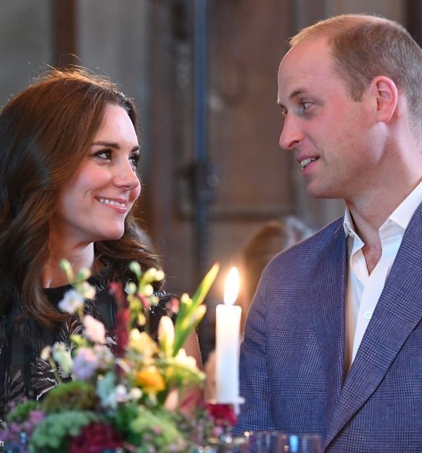 William & Kate attend a reception at the Clärchens Ballhaus in Berlin