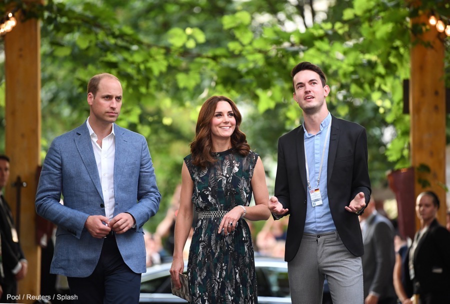 William and Kate visit Clärchens Ballhaus ballroom in Berlin