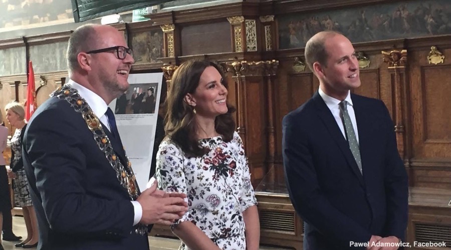 William and Kate in Gdansk, Poland
