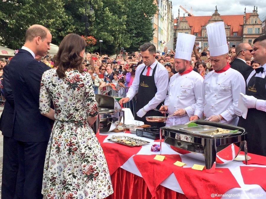 William and Kate in Gdansk