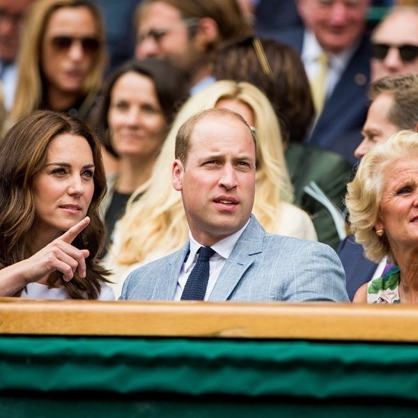 Kate wears white wildflower print dress to Wimbledon final