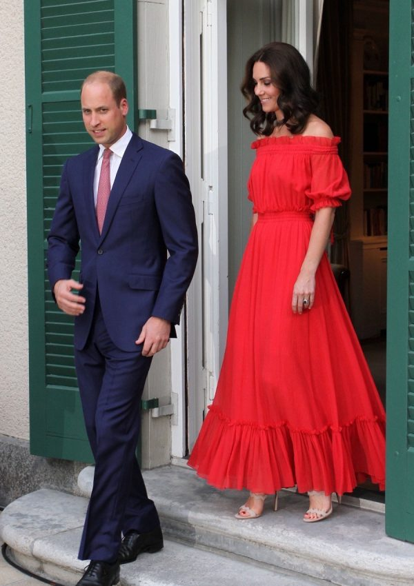 William & Kate attend their second Garden Party of the week!