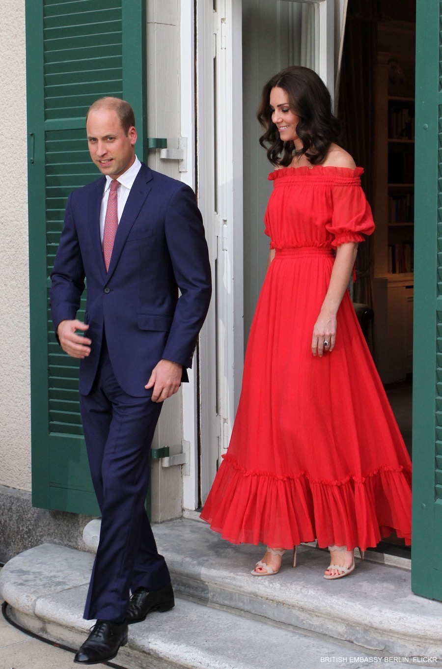 Kate Middleton at the Garden Party in Berlin