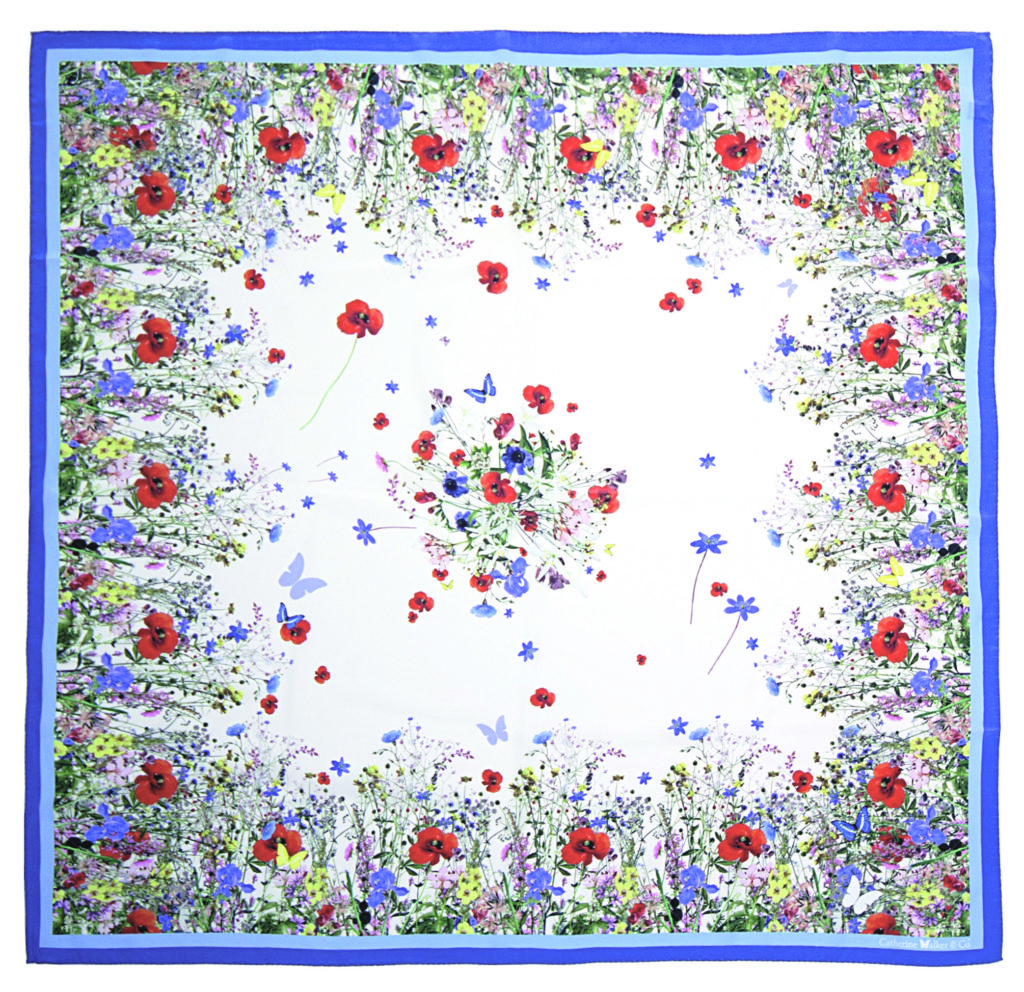 Catherine Walker Wild Flower Scarf