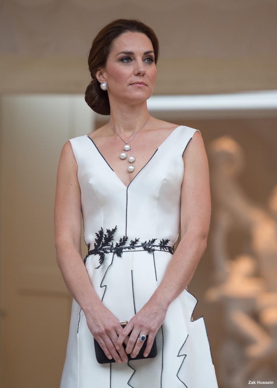 Kate Middleton at a Garden Party in Poland