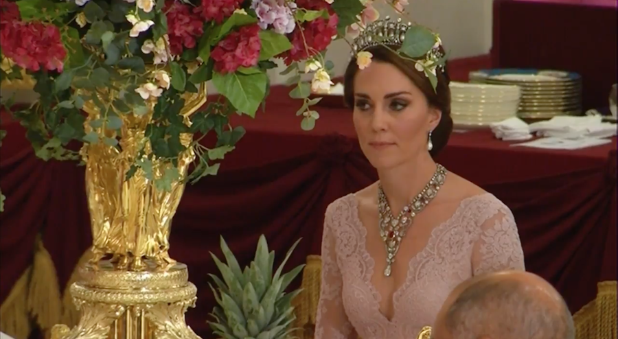 Kate Middleton at the Spanish State Banquet