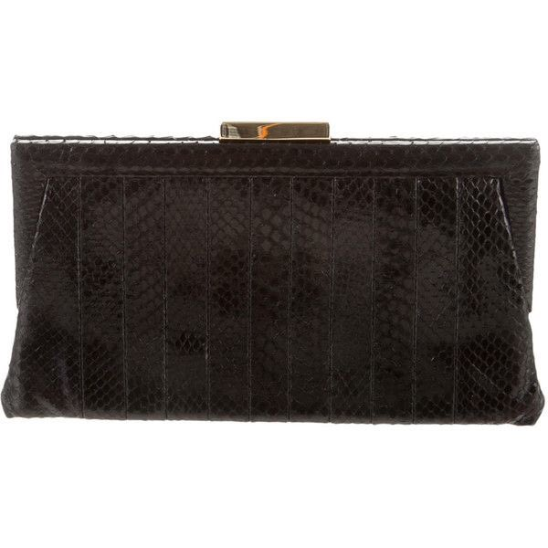Kate's Anya Hindmarch clutch in black