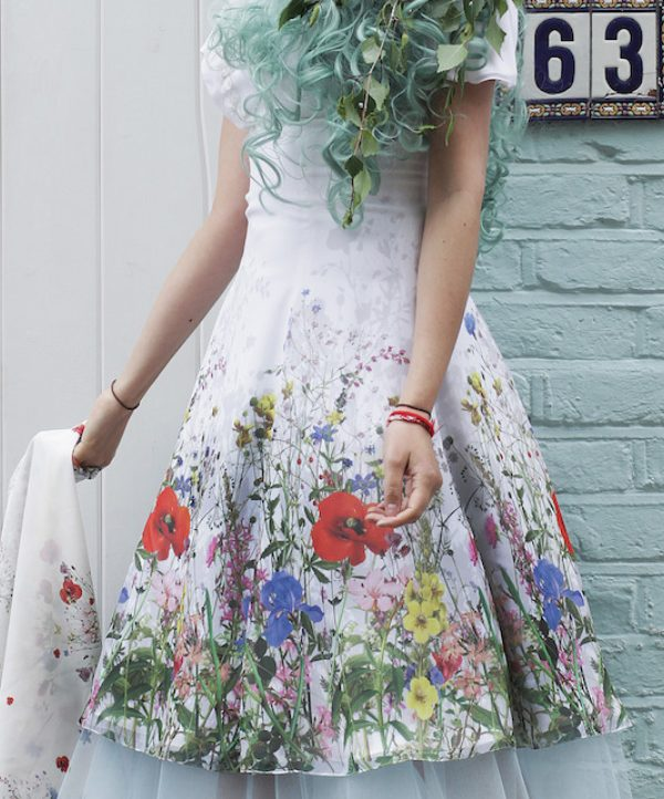 Catherine Walker Wildflower Dress