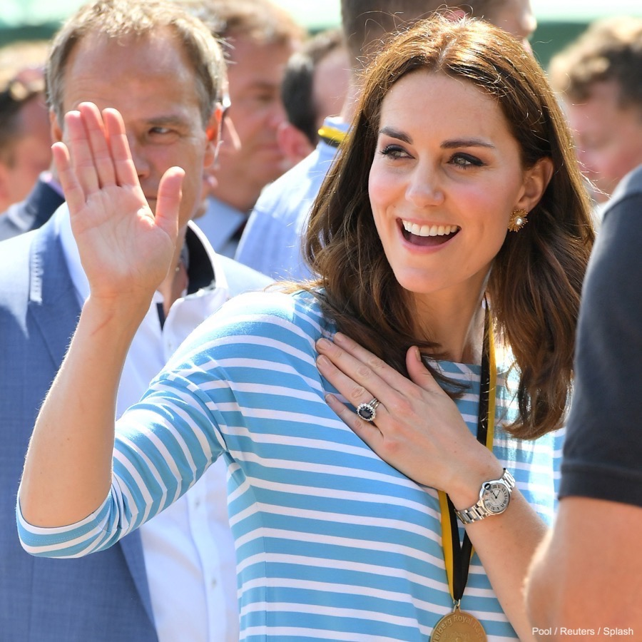 Kate Middleton in Heidelberg, Germany.