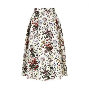 Kate Middleton erdem floral skirt