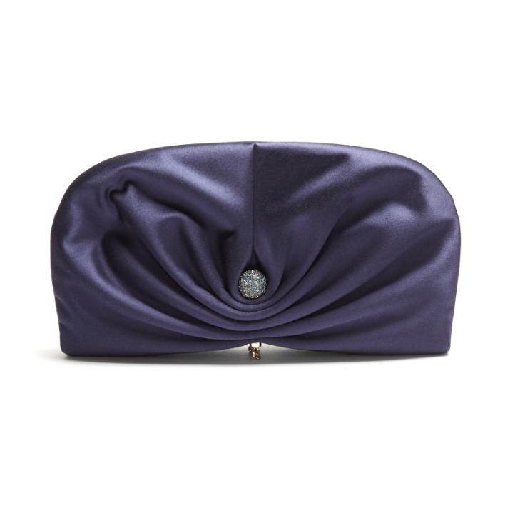 Kate Middleton's blue clutch bag in Berlin, Germany