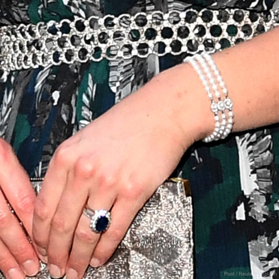 Kate Middleton's Pearl Bracelet