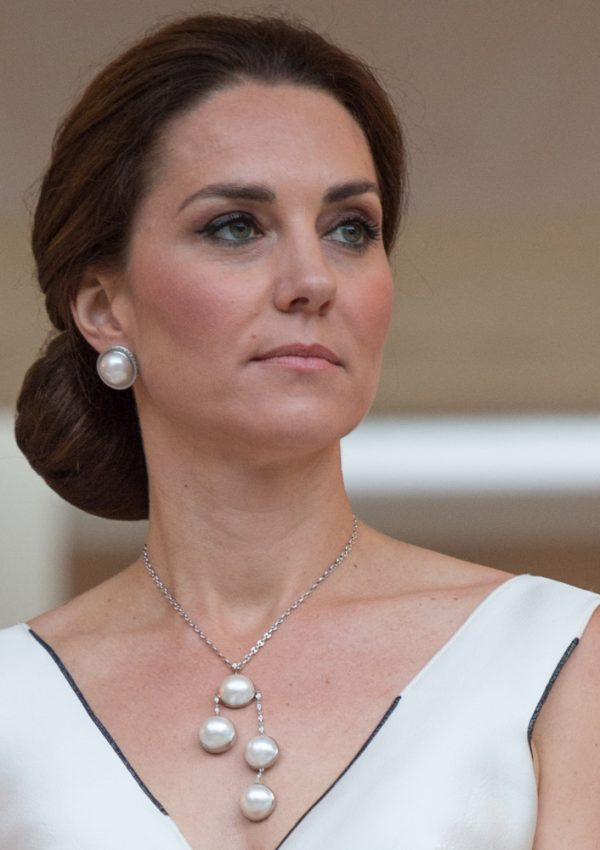 Kate wears Polish designer for Queen's birthday party in Warsaw