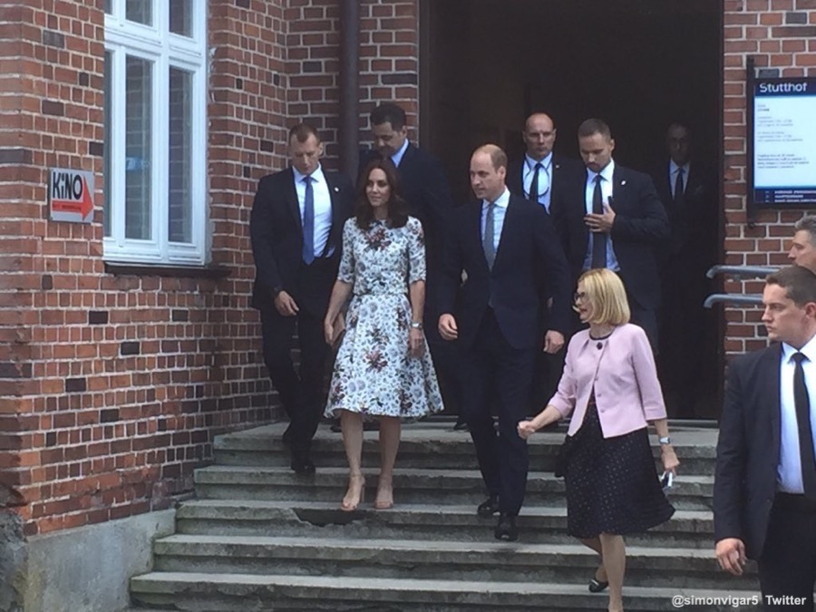 Duchess of Cambridge in Poland