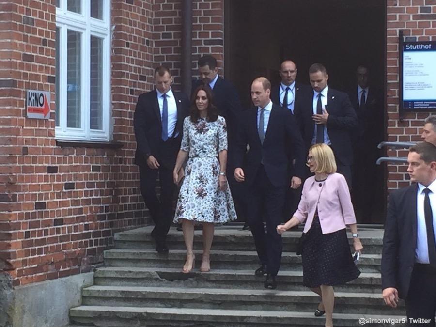 Duchess of Cambridge in Poland