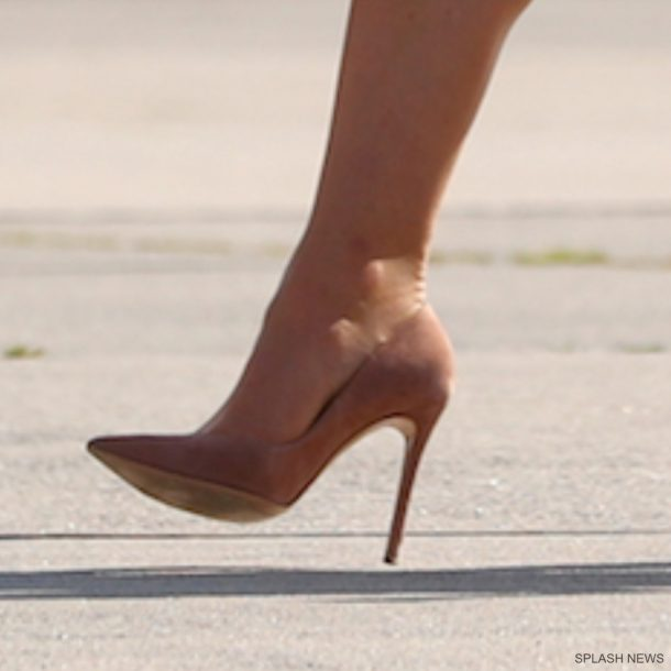 Kate Middleton's Gianvito Rossi 105 pumps in Hamburg