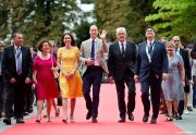 Kate Middleton visiting Heidelberg in Germany
