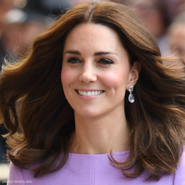 Kate Middleton's earrings in Hamburg, Germany