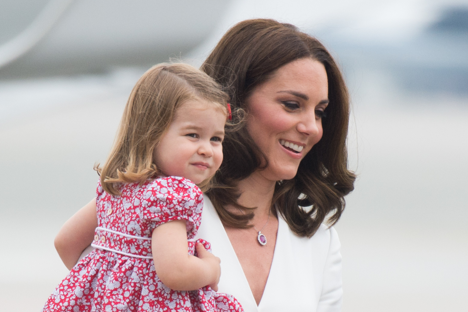 william kate george amp charlotte visit warsaw poland