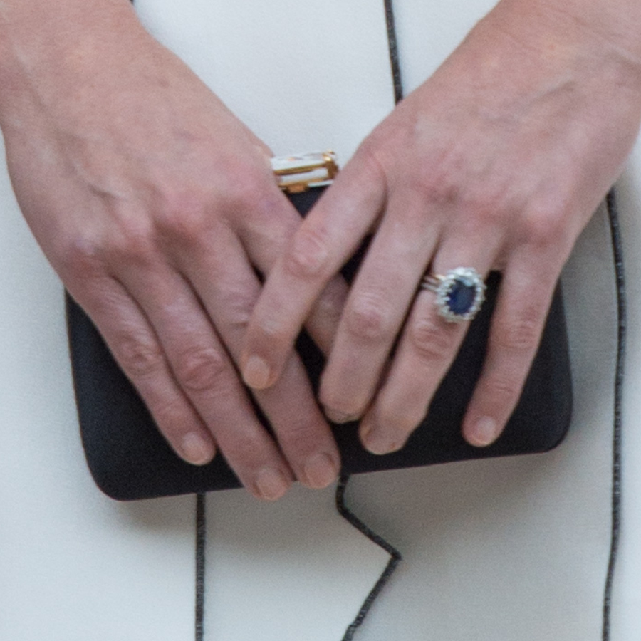 Kate Middleton's Black Prada Clutch bag from Poland
