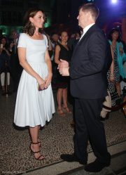 Kate Middleton wearing the Preen Everly Dress