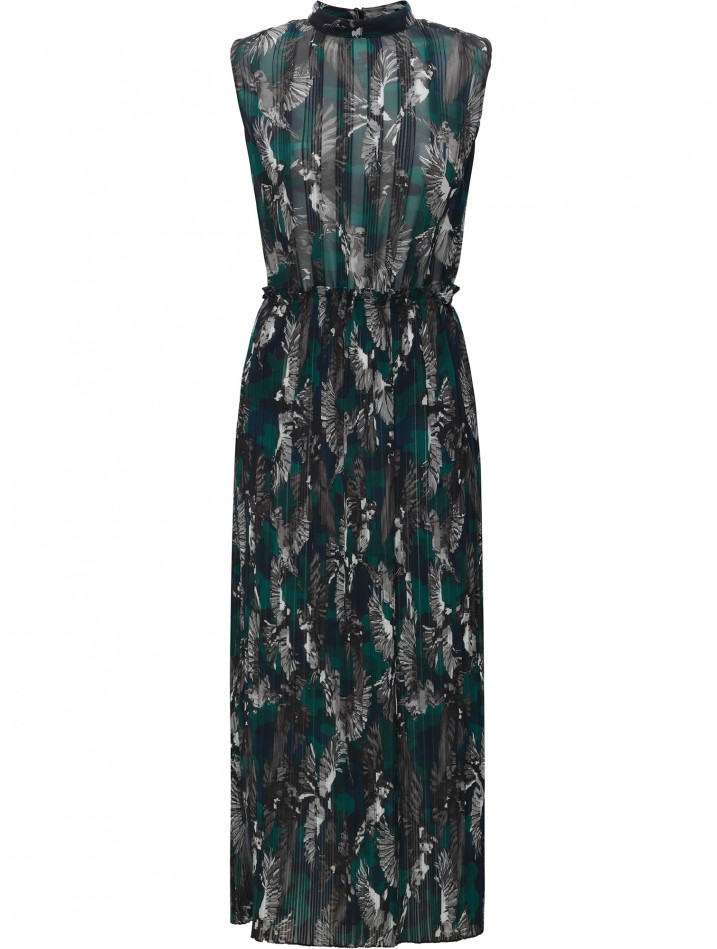 Markus Lupder Wild Sparrow Arabella Dress in Teal