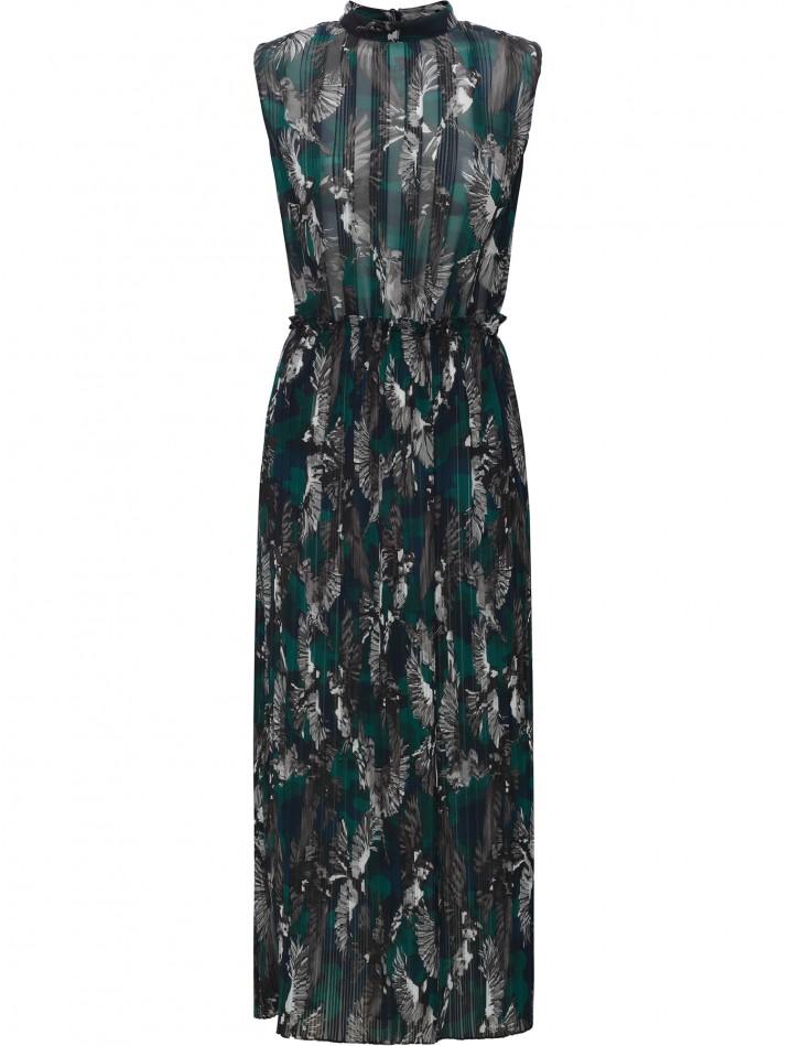 Markus Lupder Wild Sparrow Arabella Dress in Teal