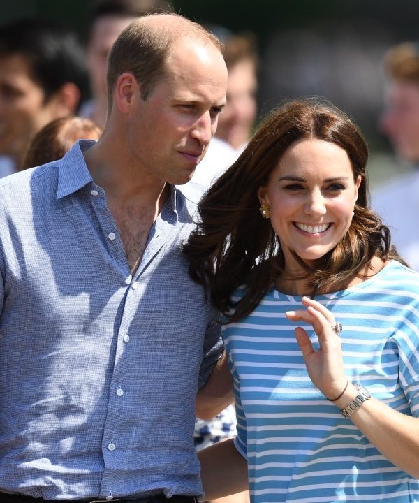William & Kate take part in a rowing competition in Heidelberg, Germany