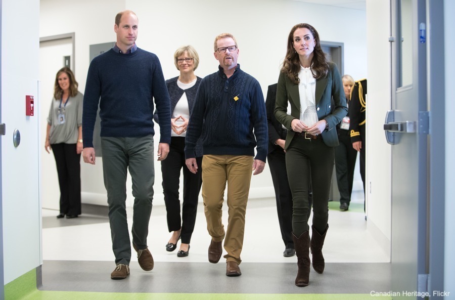 William and Kate visit Haida Gwaii Hospital and Health Centre