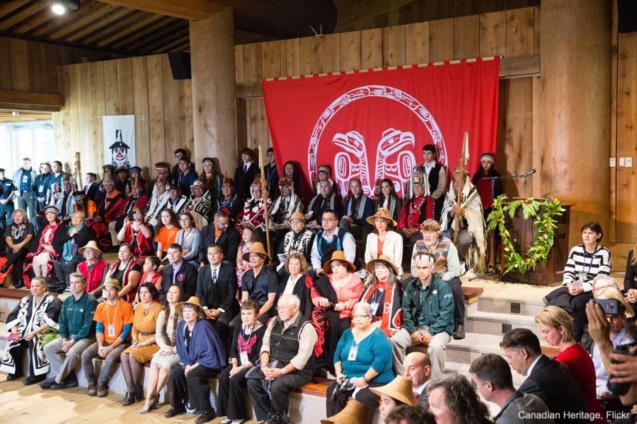 William and Kate in Haida Gwaii