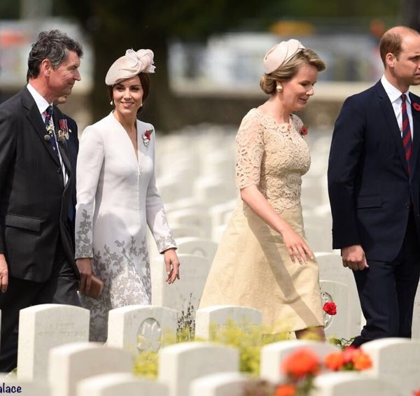Kate spends second day in Belgium at Battle of Passchendaele commemorations