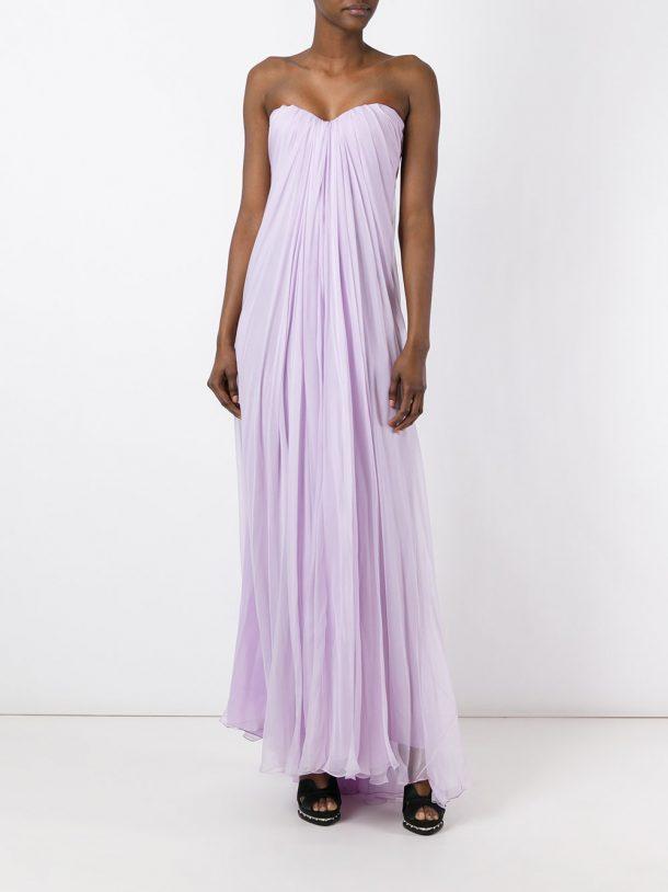 Lilac Alexander McQueen gown