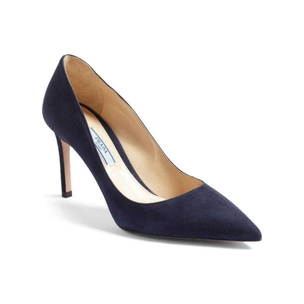 Kate Middleton's Blue Prada Point Pumps