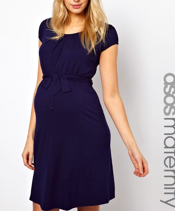 ASOS Maternity Dress in Blue