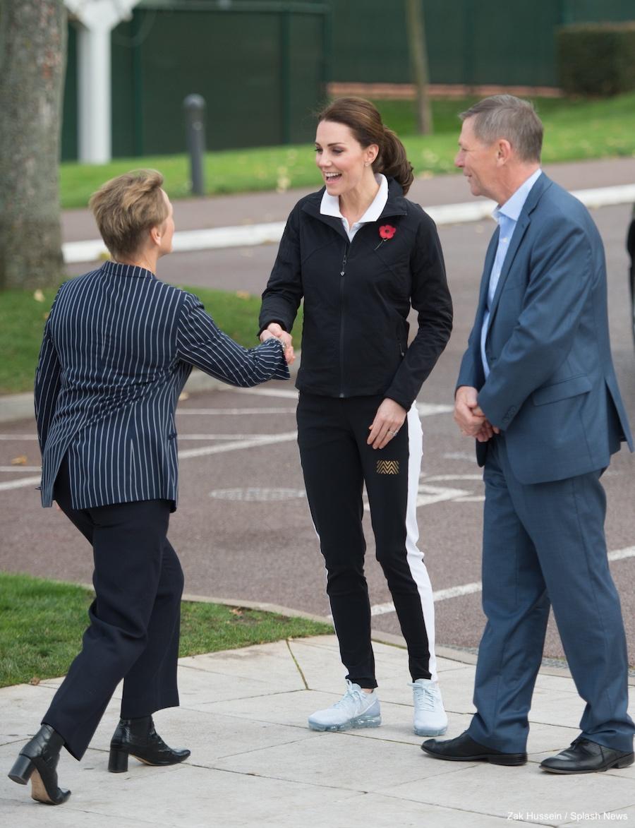 Kate Middleton visiting the LTA (Lawn Tennis Association)