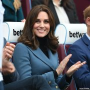 Kate Middleton visits London Stadium