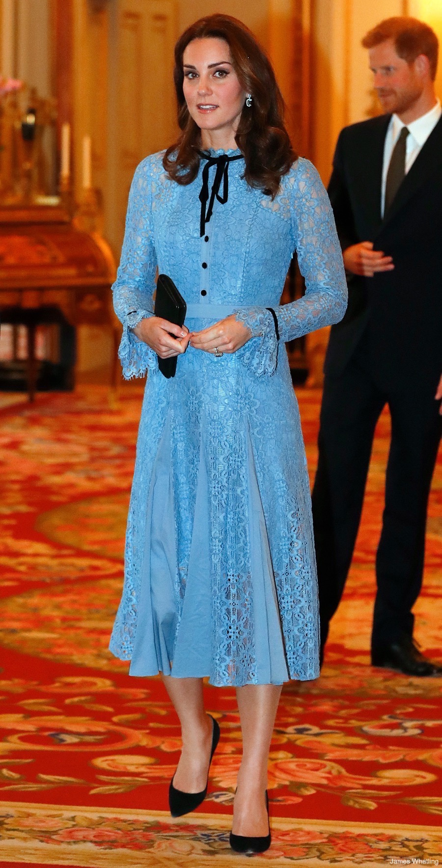 Kate Middleton at the mental health reception at Buckingham Palace