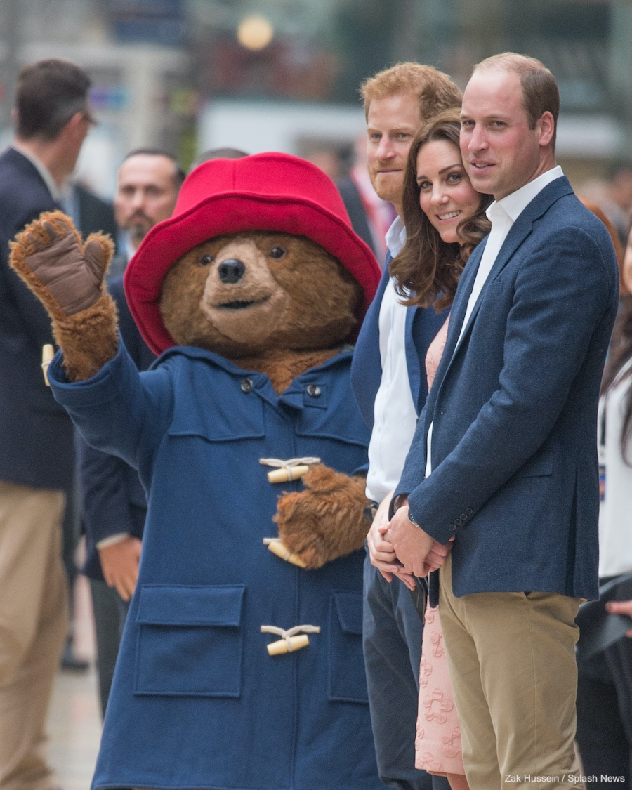 Kate Middleton meets Paddington Bear