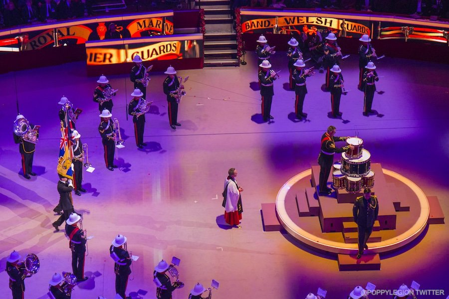 Royal Marines Band at the Festival of Remembrance
