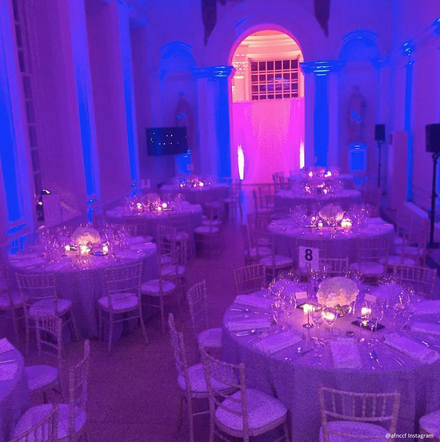 Inside the AFNCCF's Gala Dinner at The Orangery, Kensington Palace