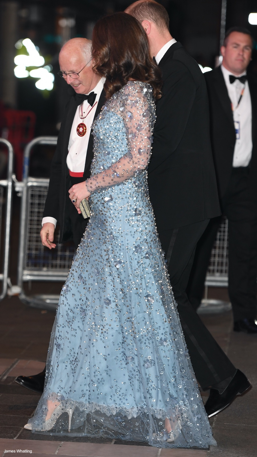 Kate Middleton at the Royal Variety Performance 2017