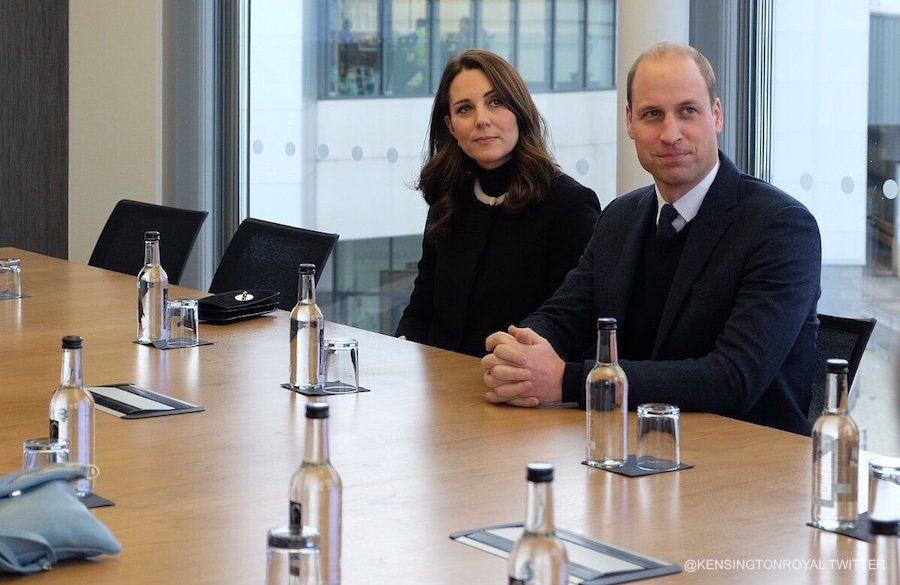 William and Kate at Land Rover in Solihull, Birmingham