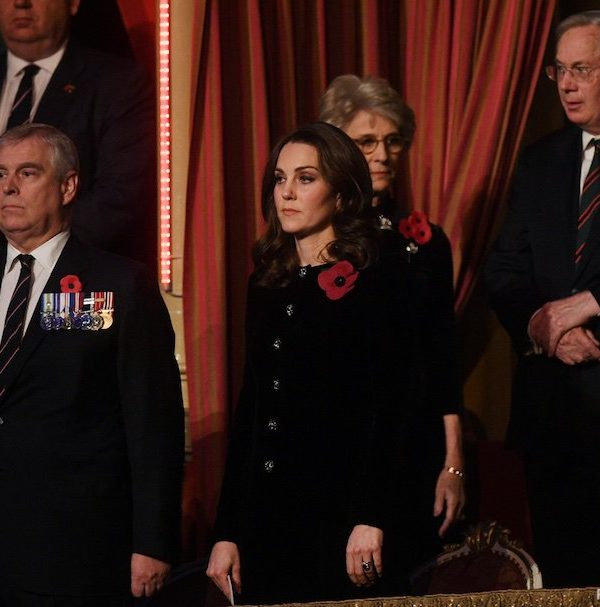 Duchess of Cambridge at the Festival of Remembrance 2017