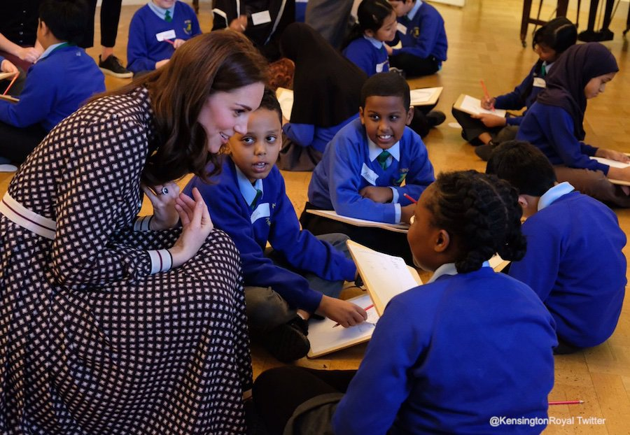 Kate Middleton at the Foundling Museum