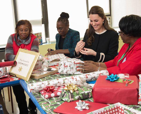 Duchess of Cambridge visits the Northside Center for Child Development New York.